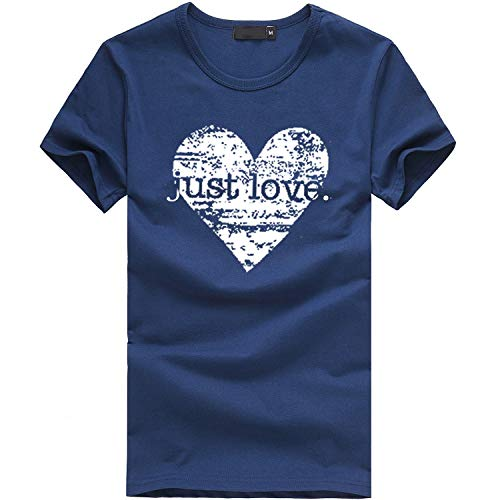 IMJONO Damen T-Shirt Frauen Mädchen Plus Size Print Tees Shirt Kurzarm T Shirt Bluse ()