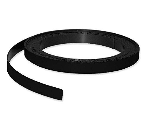 nungsband farbig, Breite 10mm - 5m Rolle - Magnetstreifen - Zum Beschriften und Markieren, von Lager, Werkstatt, für Whiteboards, Flipcharts, Präsentationen, Farbe:schwarz ()