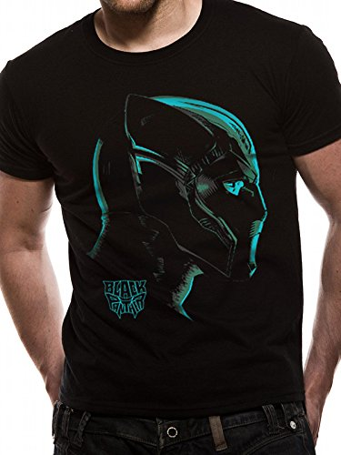 T-Shirt (Unisex-Xl) Neon Face (Black) [Import anglais]