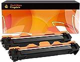2 x TN1050 Noir Cartouches Compatibles de Toner pour Brother DCP-1510, DCP-1512, HL-1110, HL-1112, MFC-1810 (2BK)