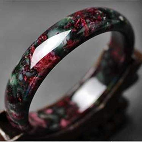 DENGDAI Armband Pfirsichblüte Pflaume Jade Armband Armband Jade Jade Jade Armband Jade Armband (Jade-armband Für Baby)