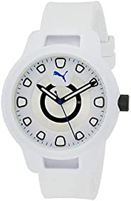 Puma Reset V1 Men's Silver Dial Silicone Analog Watch - P