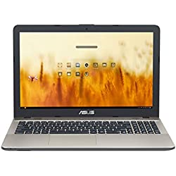 "ASUS D541NA-GQ263 - Ordenador portátil de 15.6"" (Intel Celeron N3350, 4 GB de RAM, disco duro HDD de 500 GB, Intel HD Graphics 500, Endless OS) negro chocolate y oro - teclado QWERTY español"