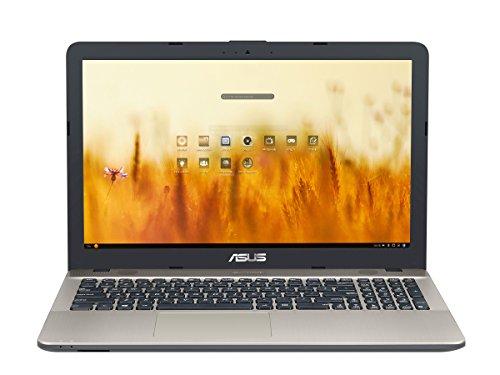 ASUS D541NA-GQ263 - Ordenador Portátil de 15.6' HD (Intel Celeron N3350, 4 GB RAM, 500 GB HDD, Intel HD Graphics 500, Endless OS) Negro chocolate y oro - Teclado QWERTY español