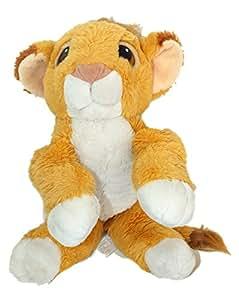 Peluche Simba LE ROI LION Disney Authentic Mattel 1993 L 40 cm