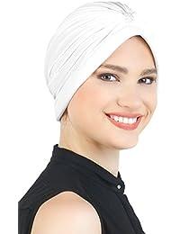 Turban Mit Perle für Haarverlust, Krebs, Chemo