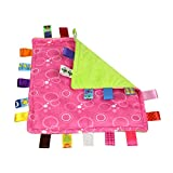 Happy Event Kawaii 30cm Säuglingsbaby Weiches schlafendes beruhigendes Tuch | Sicherheitsdecke Handtuch Handtuch (G)