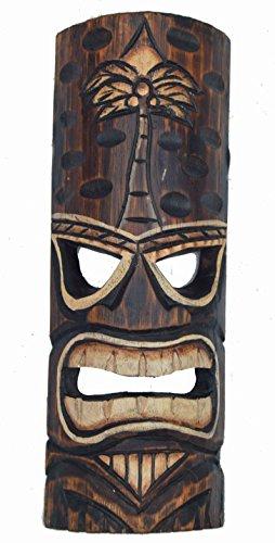 Tiki-pared-Mscara-30-cm-en-Hawaii-Style-Mscara-Mscara-Madera-Isla-de-Pascua