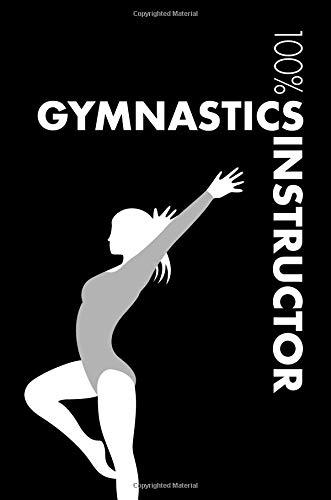 Gymnastics Instructor Notebook: Blank Lined Gymnastics Instructor Journal For Athlete and Coach por Elegant Notebooks
