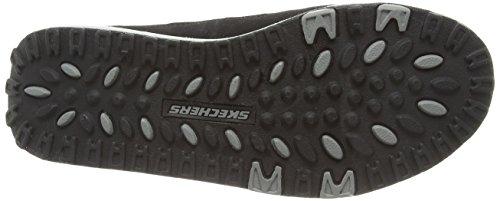 Skechers - 2.0 Comfort Stride, Scarpe sportive outdoor Donna Nero (Nero (Black/Silver))