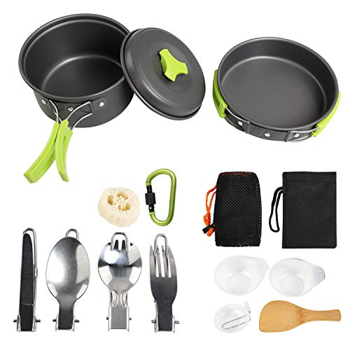 Straightforward Multifunctional Camping Equipment Cookware Spoon Fork Bottle Opener Portable Tool Outdoor Survival Soft And Light Outdoor Tablewares Campcookingsupplies
