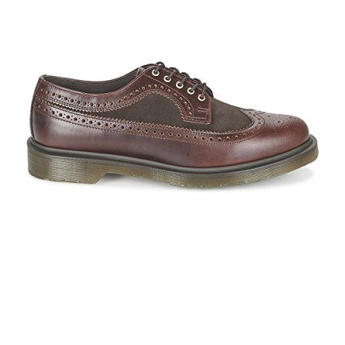 Dr. Martens 3989 Charro Brando Dark Brown Hi Suede Wp 21496211, Chaussures de ville