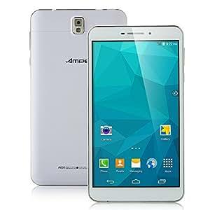 6.95 Pouces Ampe A695 Tablet PC Phablet 3G Débloqué Android 4.4 MTK8382 Quad Core 1.7GHz Grand IPS écran jusqu'à 1024*600 pixels 8GB / 512MB WiFi Bleutooth Play Store
