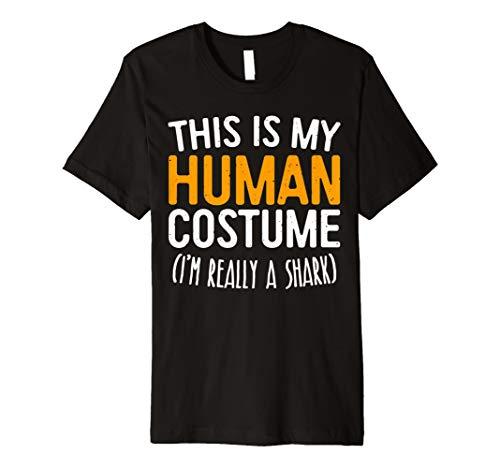 This Is My Echthaar Kostüm Ich bin wirklich ein Shark T-Shirt