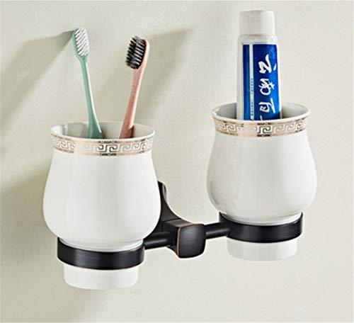 Pmrioe Doppelter Schalenständer Des Amerikanischen Schwarzen Antiken Toilettenbad-Hardware-Anhängers Badezimmer