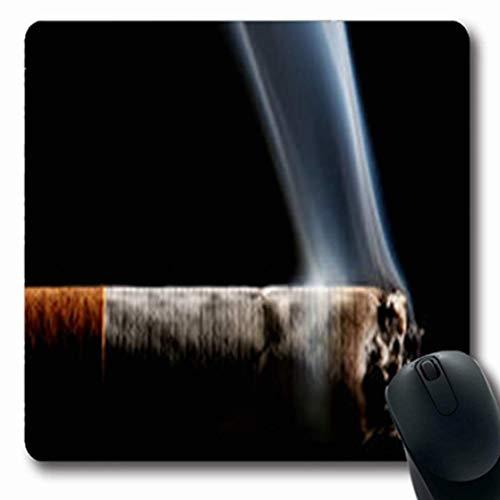 Luancrop Mousepads Gesundheits-Zigaretten-Rauchen-abstrakte Makroseiten-Rauch-längliches Spiel-Mausunterlage-rutschfeste Gummimatte