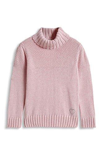 ESPRIT Mädchen Pullover 105EE7I003, Gr. 128 (Herstellergröße: 128/134), Rosa (NUDE 685)