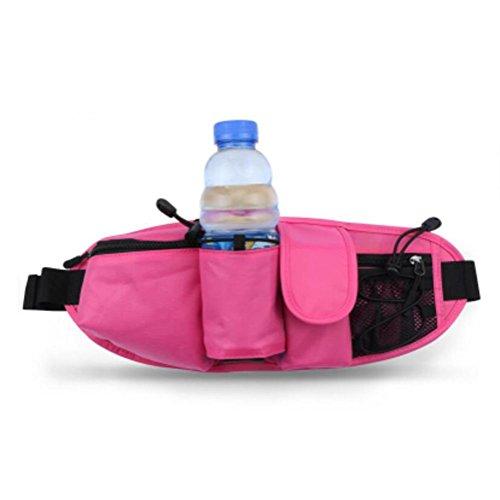 OOFWY Sport Running Kettle Pockets Taille Gürtel Telefon Pack Tasche B