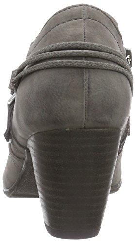 s.Oliver 24405 Damen Kurzschaft Stiefel Grau (Graphite 206)