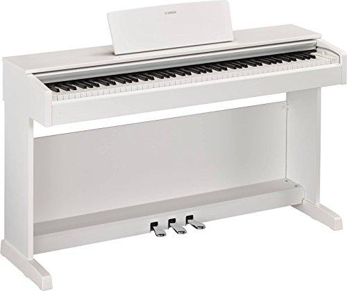Yamaha NYDP143WH Pianoforte Digitale, Bianco