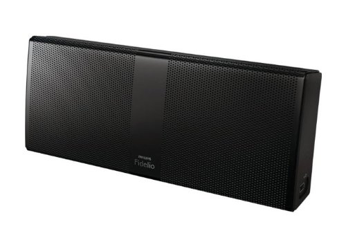 Philips Fidelio P8 (P8BLK/10) tragbarer Lautsprecher mit Bluetooth  (20 W RMS, wOOx-Technologie, 8 Stunden Akku) schwarz
