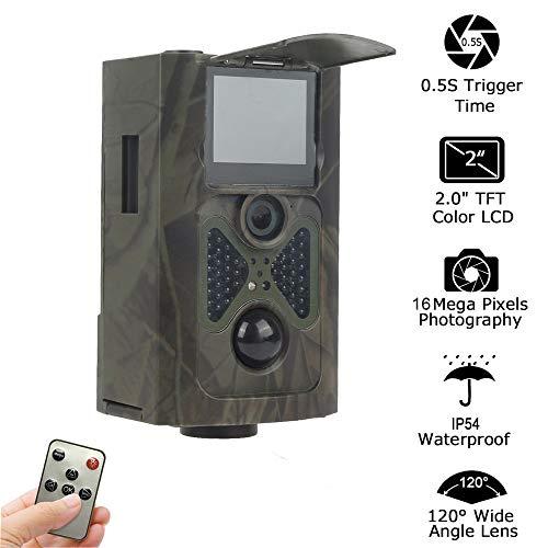 TLgf Trail-Kamera-automatische Infrarot-Wärmeschutz-Jagdkamera Blitzauslöser für Outdoor-und Home-Sicherheitsmonitor Infrarot-trail-kameras