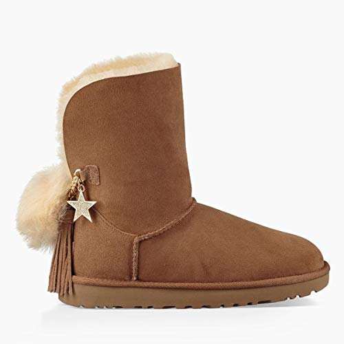 Stivales UGG Classic Charm Castagna 38 Beige