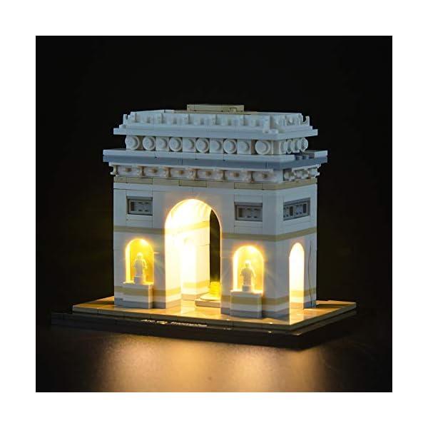LIGHTAILING Set di Luci per (Architecture Arco di Trionfo) Modello da Costruire - Kit Luce LED Compatibile con Lego… 2 spesavip