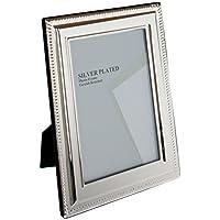 Viceni Cornice Placcata Argento a Treccia, 20x25 cm