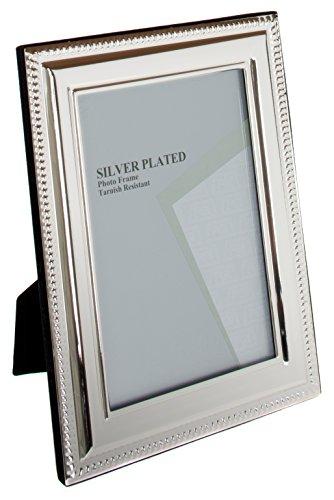 Maturi Photo Frame, Aluminium, Silber, 4 x 6-Inch
