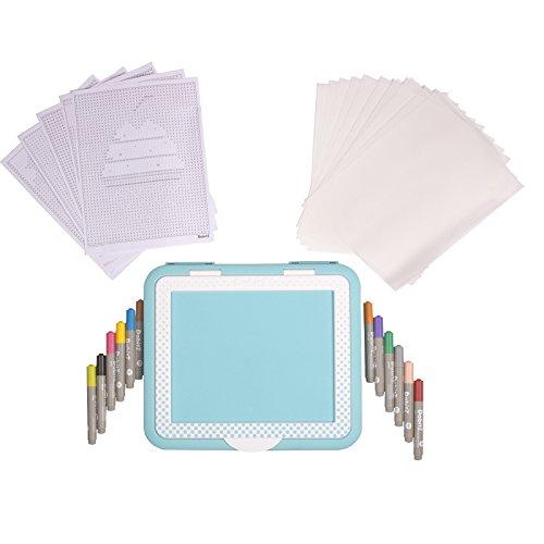 Creative Hands Made Dabitz Portable Dab Desk Includes 12 Dabbers
