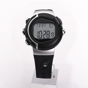 41qNlwa9h0L. SS300  - Pellor Calorie Heart Rate Monitor Watch Pulse Watch Sport Watch Wristwatch (Black)