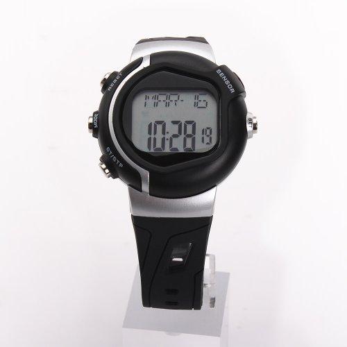 41qNlwa9h0L. SS500  - Pellor Calorie Heart Rate Monitor Watch Pulse Watch Sport Watch Wristwatch (Black)