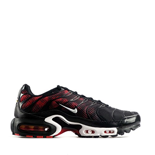 Nike Air Max Plus Txt Noir 647315-002 black white challenge red 016