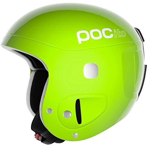 POC POCito Helmet Ski Helm, Flourescent Yellow/Green, XS-S (51-54 cm), Größe einstellbar