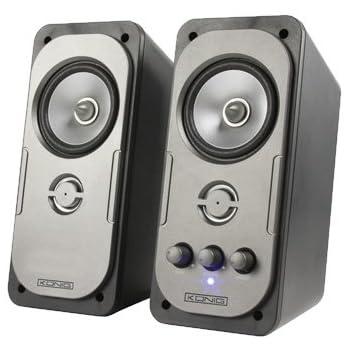 König CMP-SP32 Ensemble haut-parleurs stéréo 2.0 pour PC 10 W