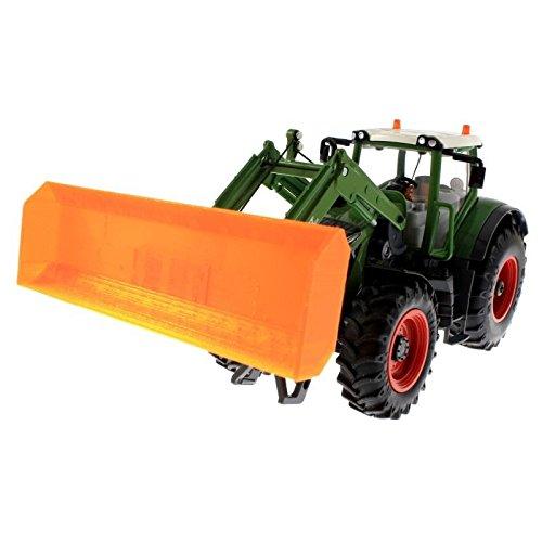 Schiebeschild für Siku Control 32 Traktoren (Orange)