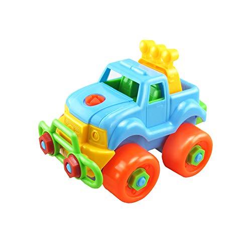 TrifyCore Nehmen Neben Spielzeug Kinder-Spielzeug Disassemble Assembled-Auto-Spielzeug Gebäude Fahrzeug Set Lernspielzeug Spielen für Kleinkinder Jungen Mädchen - Gebäude Spielzeug Junge