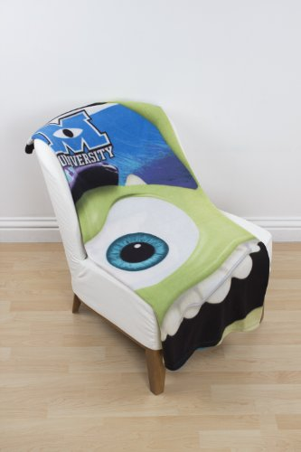 Image of Character World Disney Monsters University Fleece Blanket, Multi-Color