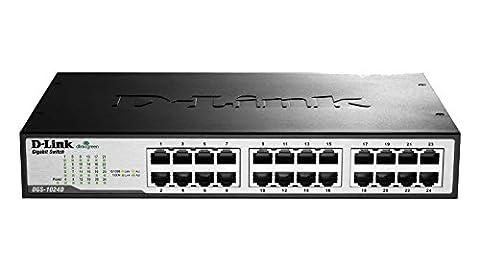 D-Link DGS-1024D Switch 24 ports gigabit Ethernet Gris