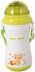 Wonderkart Beautiful Desing And Attractive Color 330 mL Child Sipper With Neck Strap - Green