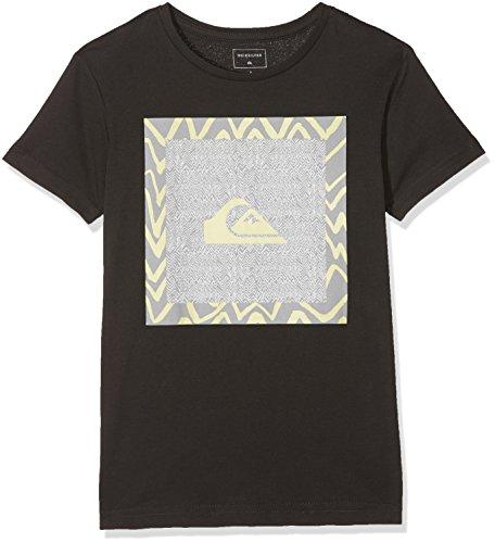 Quiksilver Jungen NANOSPANOYOUTH B TEES KTA0 Screen Tee, Tarmac - Solid, S/10 (Beach T-shirt Youth)
