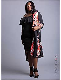 Edmond Boublil - Vêtement Femme Grande Taille Gilet Over Edmond Boublil Floral