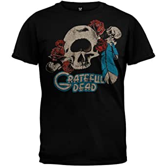 Grateful Dead - Mens Cyclops Soft T-shirt - X-Large Black