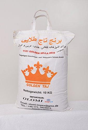 Basmati Reis 1121 Golden Sella 20 Kg (2x10Kg)