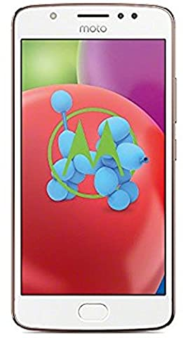 Motorola Moto E4 Smartphone (12,7 cm (5 Zoll) Display, 2 GB RAM/16 GB, Android) blush gold [Exklusiv bei Amazon]