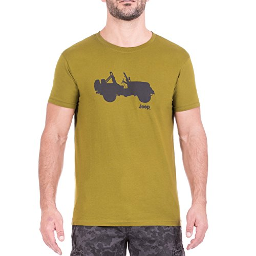 Jeep Hombre Side Willys J8S-Camiseta