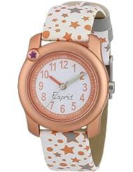 Esprit Mädchen-Armbanduhr Analog Quarz Plastik ES105284001