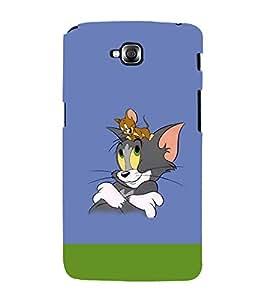 printtech Tom & Jerry Back Case Cover for LG GPro Lite / LG G Pro Lite Dual D686