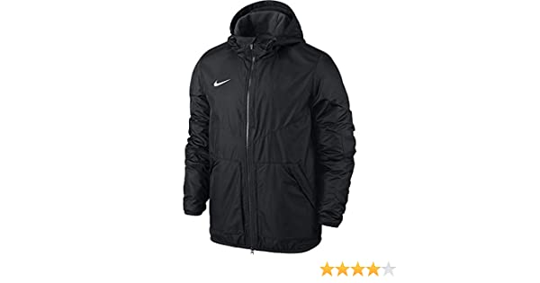 Nike Yth'S Team Fall Jacket BlackAnthraciteWhite